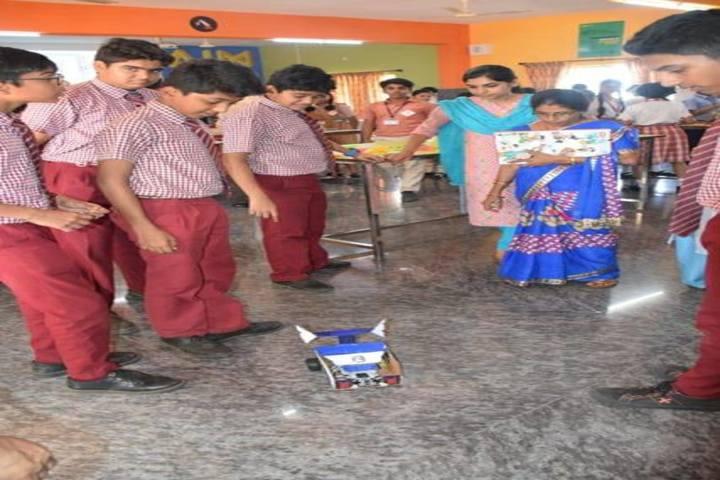 Dr N Shankara Adyanthaya Memorial English Medium High School Nitte-Science Exhibition