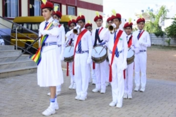 East West International School-Band Troop