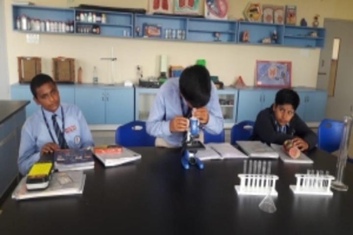 East West International School-Biology Lab