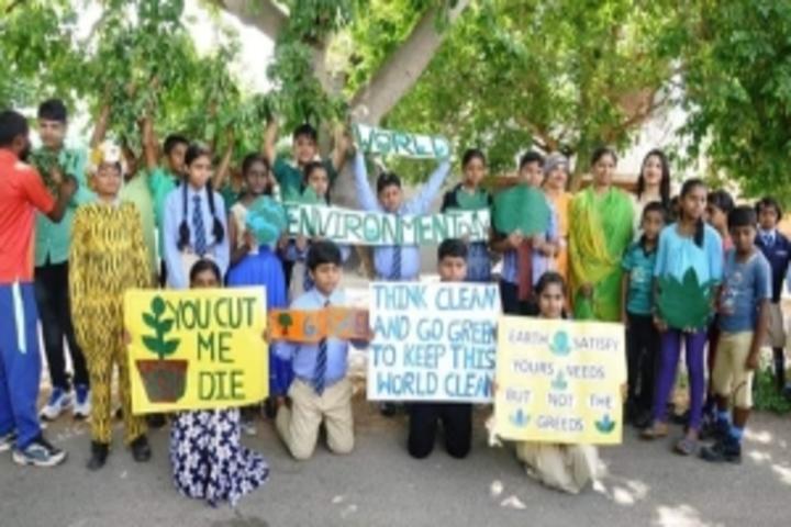 East West International School-Environment Day