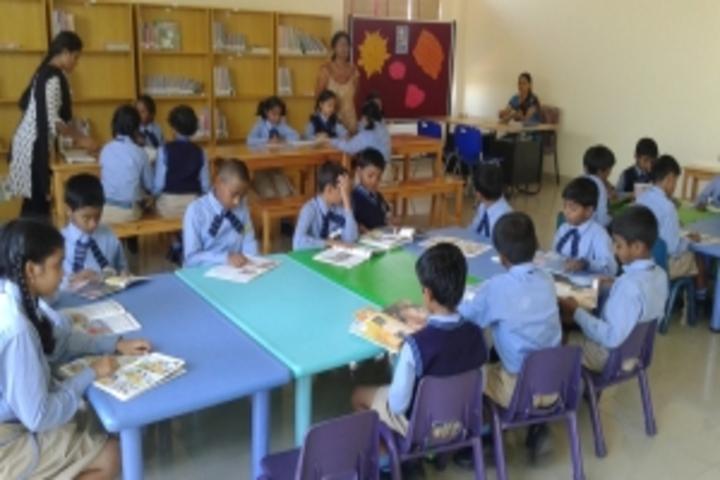 East West International School-Library
