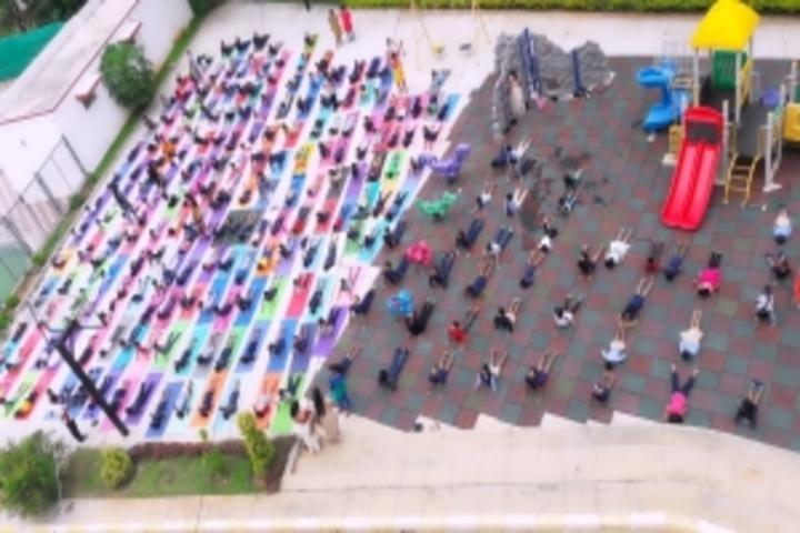 East West International School-Yoga Day