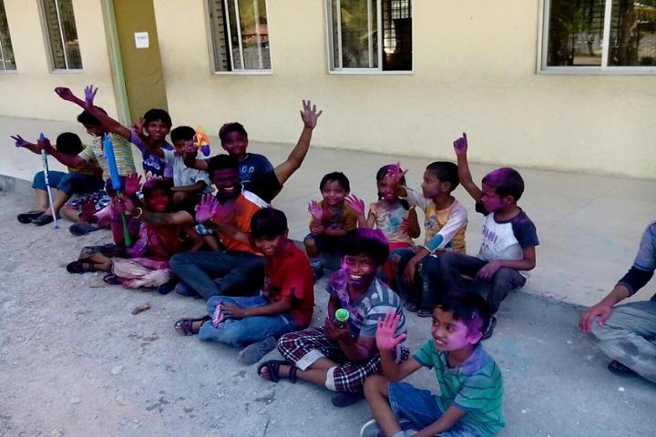 Edu Asia International School-Holi Celebrations