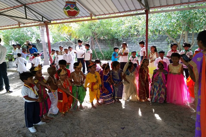 Edu Asia International School-Krishnastami Celebrations