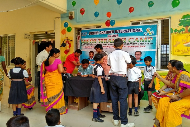 Edu Asia International School-Medical camp