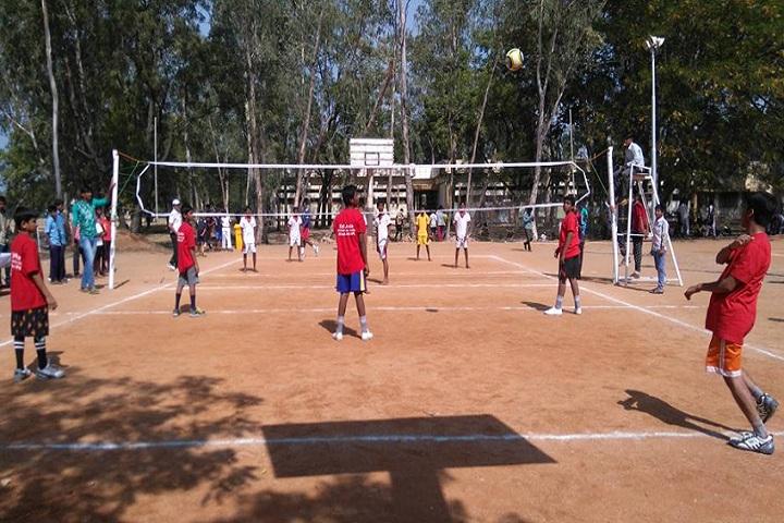 Edu Asia International School-Sports volley ball