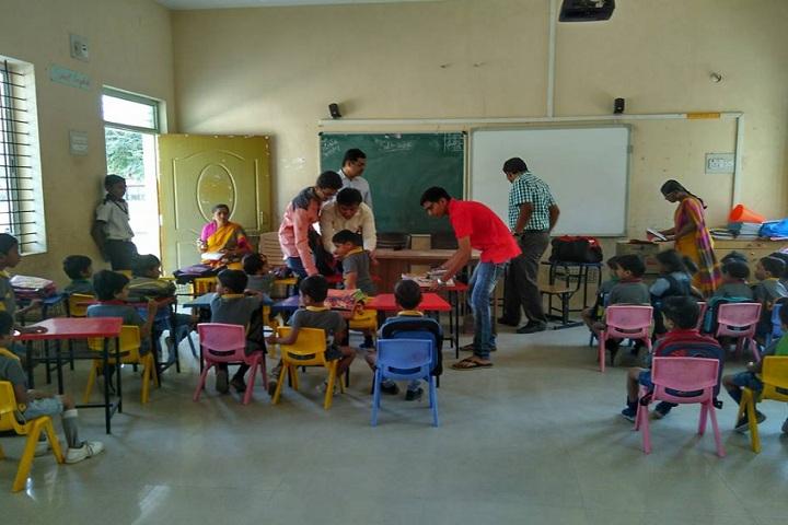 Edu Asia International School-classroom