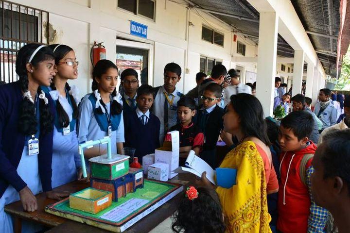 Central public school - school exhibition