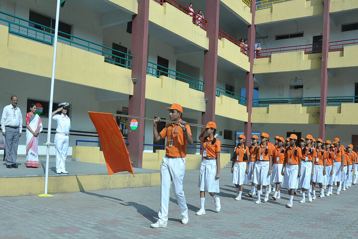 G M Vidyanikethan Public School-Independence Day