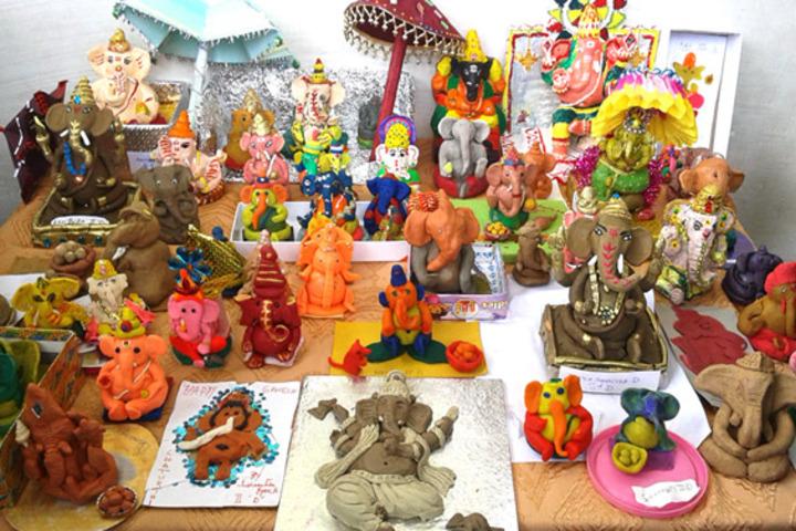 Geetanjali Vidyalaya-Idol Making