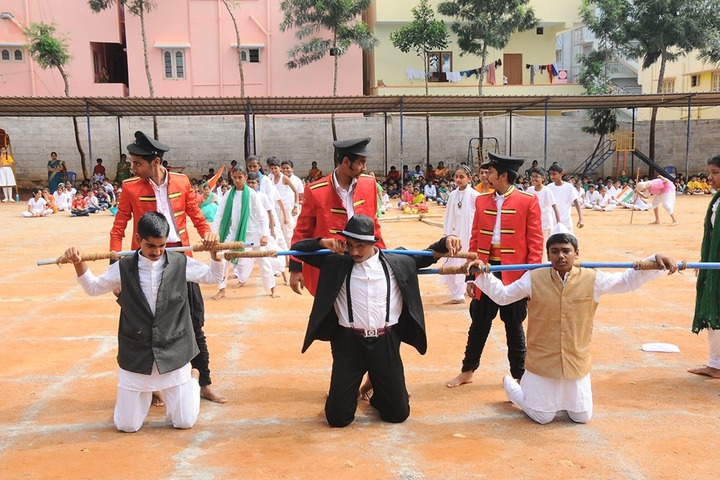 Giridhanva School-Independence Day