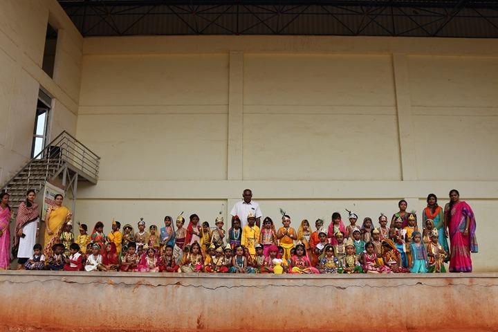 Giridhanva School-Janamastami Celebrations