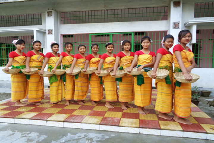 Centre For New Learning-Bodo Dance