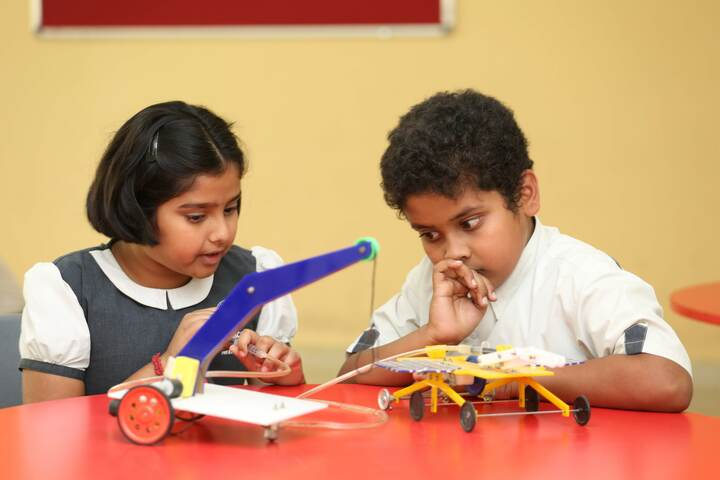 Global Academy For Learning School-Science Lab