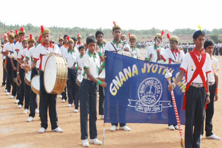 Gnanajyothi School- Sports Meet