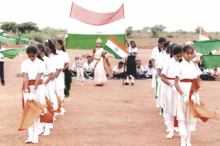 Gnanajyothi School-Independence Day