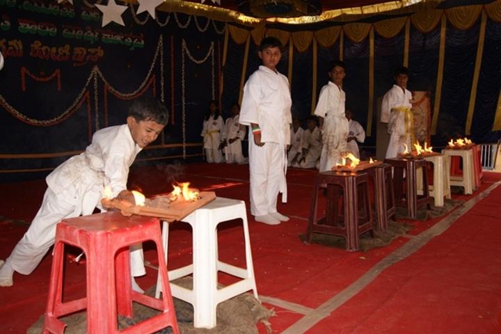Gnanajyothi School-Martial Arts