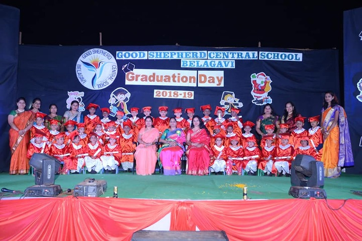 Good Shepherd Central School-Graduation Day
