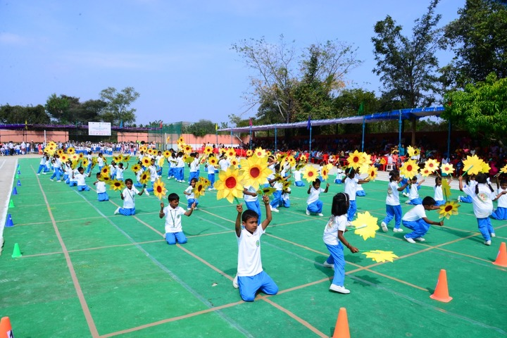 Green Bell High-Annual Sports Day