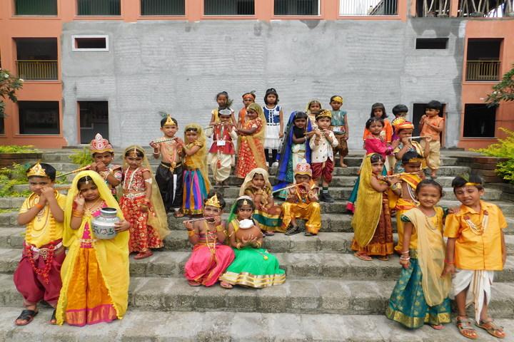 Green Bell High-Janamastami Celebrations