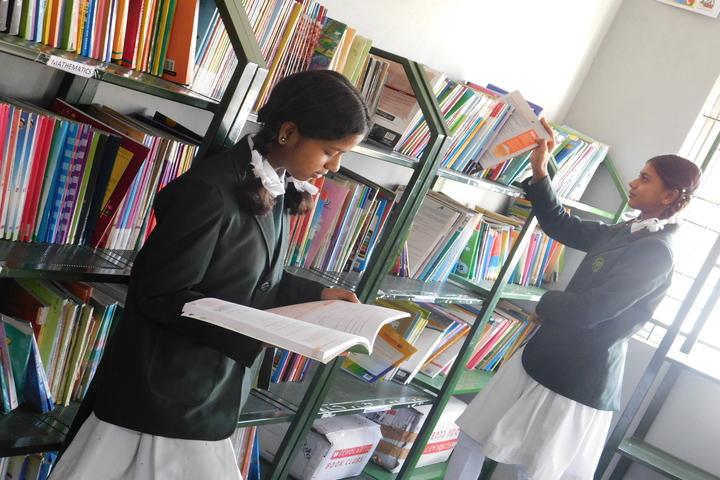 Green Bell High-Library