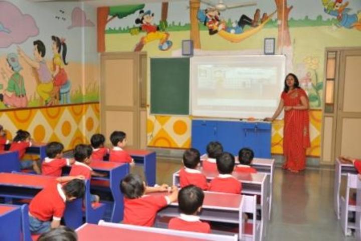 Christ Jyoti School-KG classroom