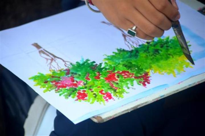 Christ Jyoti School- Art Competition