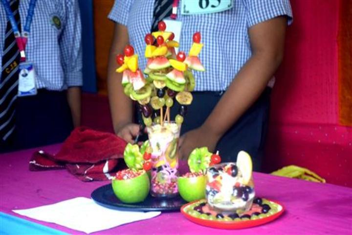 Christ Jyoti School -Food Festival
