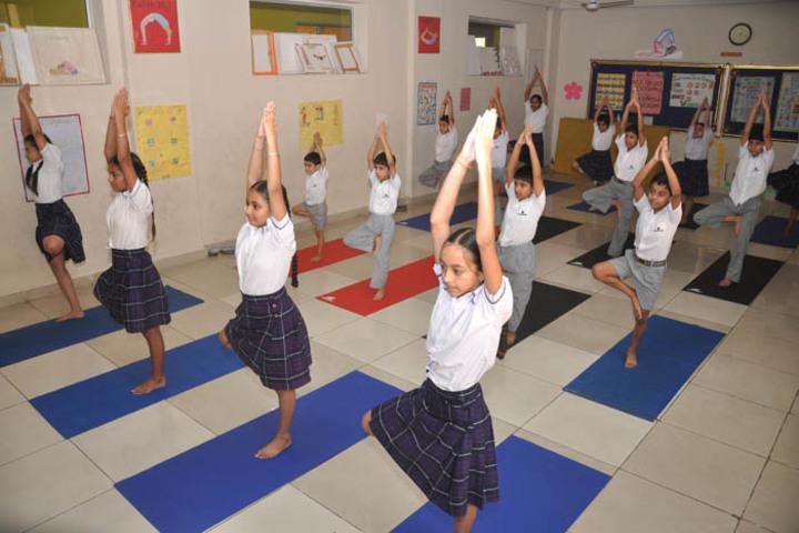 Christ Jyoti School-Yoga