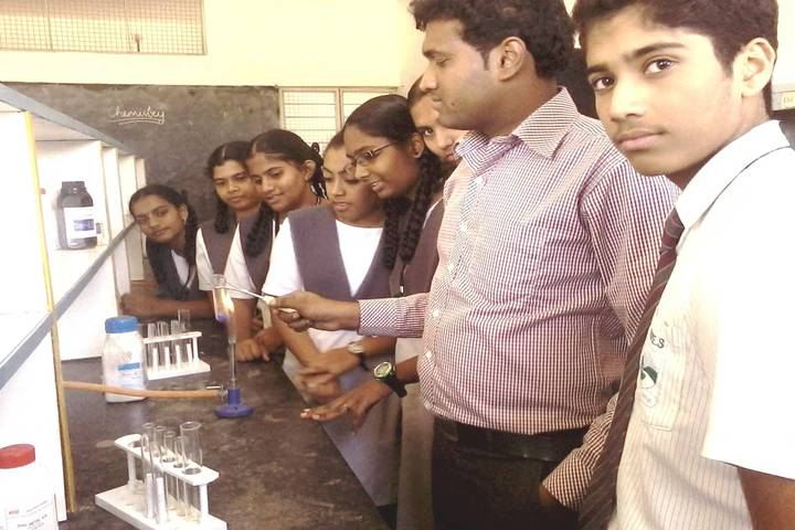 Green Valley English School-Chemistry Lab