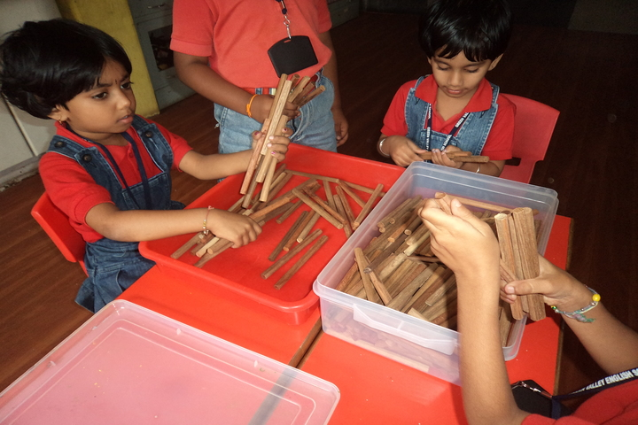 Green Valley English School-Classroom Activity