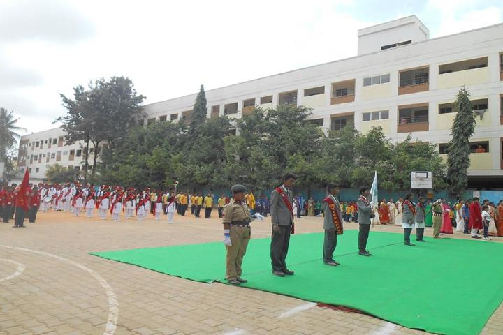 Green Valley English School-Investiture Ceremony