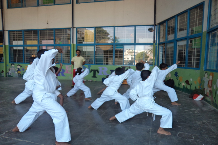 Green Valley English School-Karate