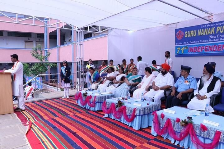 Guru Nanak Dev Public School-Independance Day