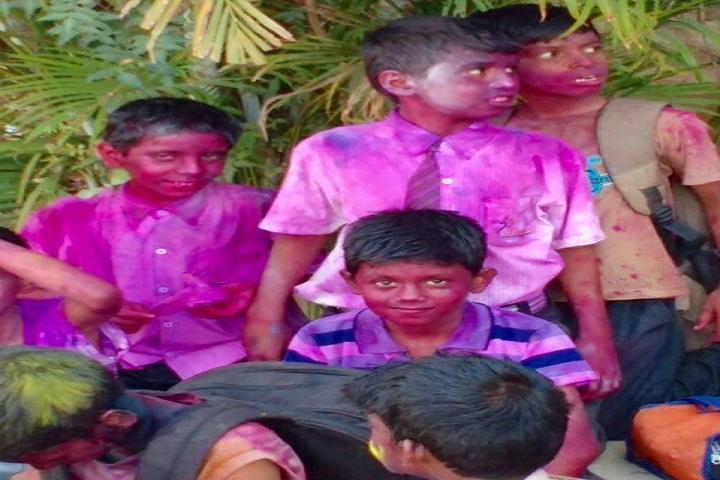 Gurukul Concept School-Holi celebrations