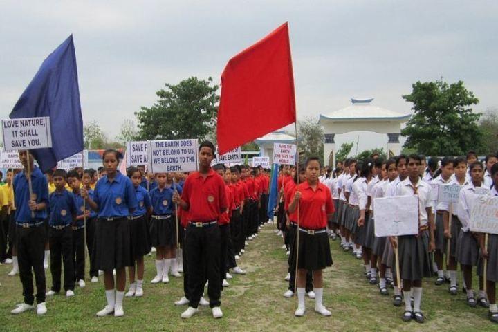 De Pauls Public School-Rally