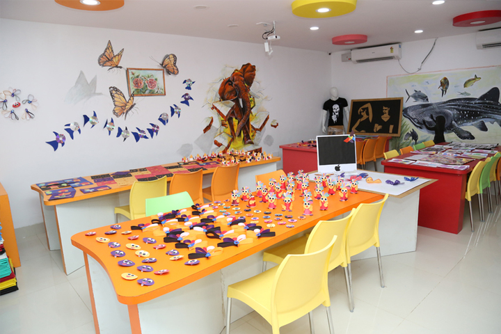 Harsha International Public School-Activity room