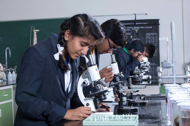 Harsha International Public School-Biology Lab