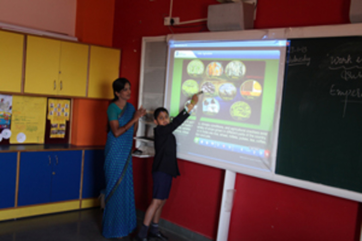 Harsha International Public School-Smart Classroom