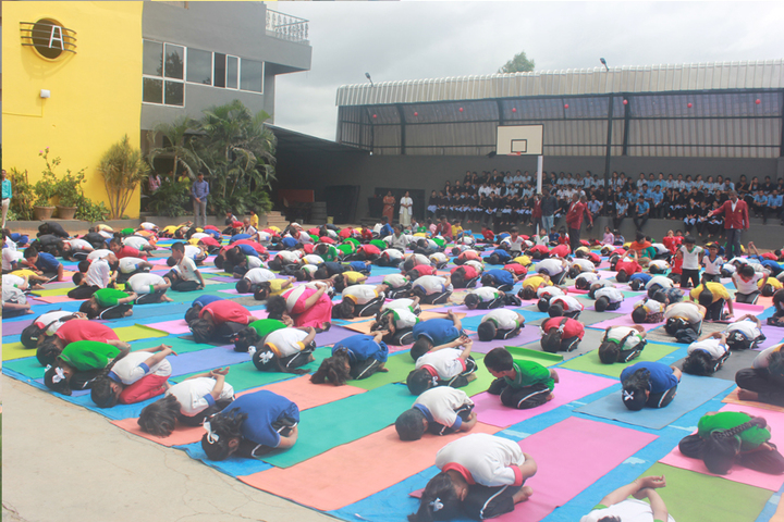 Harsha International Public School-Yoga