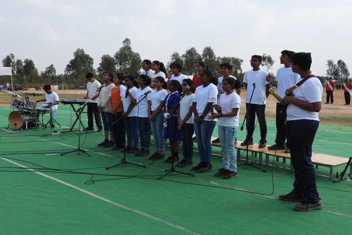 Harvest International School-Music Band