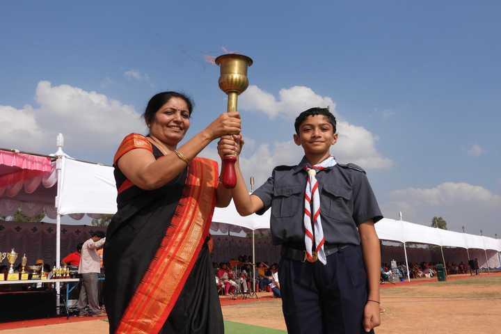 Harvest International School-Sports Day