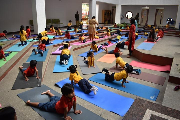 Harvest International School-Yoga