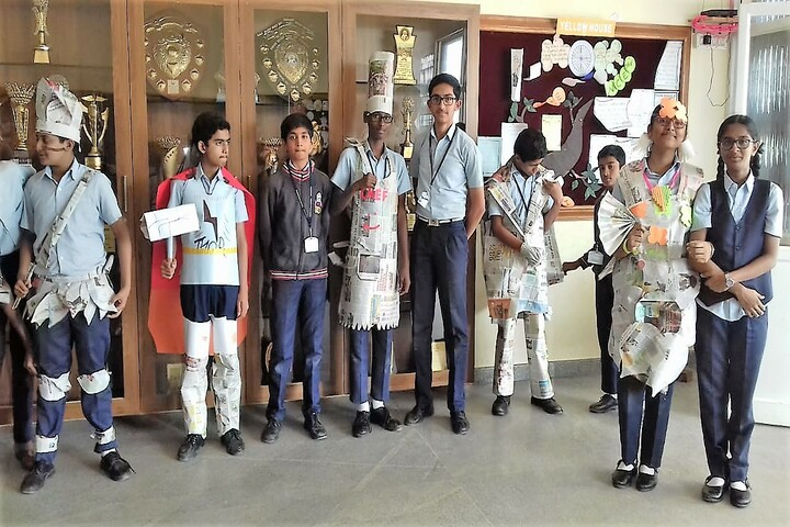 Hassan Public School-Best out of Waste