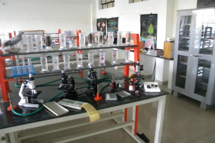 Hassan Public School-Biology Lab
