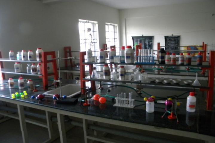 Hassan Public School-Chemistry Lab