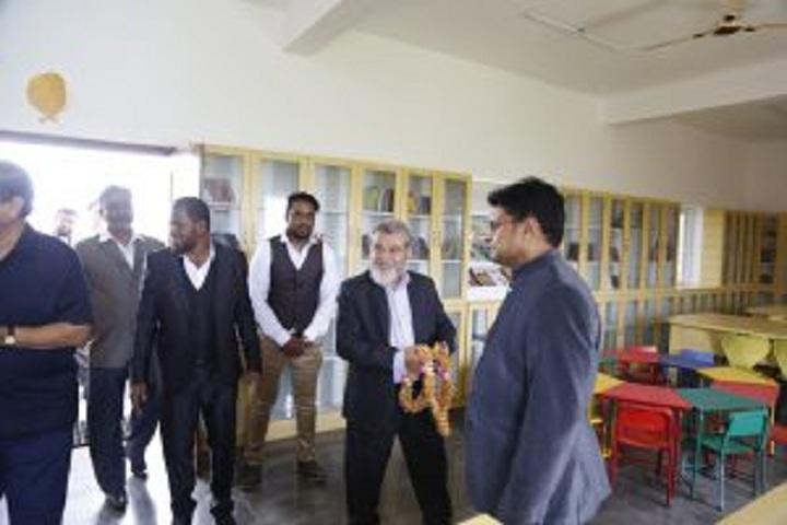 Indo Sunrise International School-Library