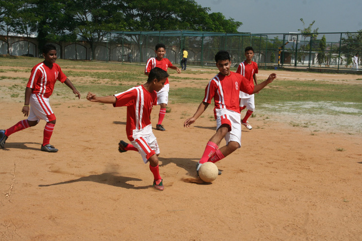 Delhi public school - football