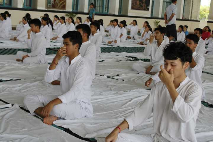 Delhi public school - yoga