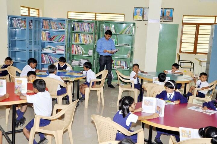 J S S Public School-Library